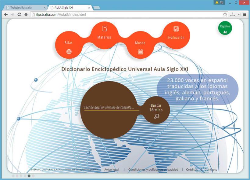 Diseño de Enciclopedia Online Estudiantil 5