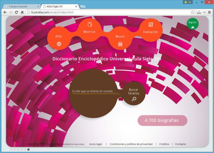 Diseño de Enciclopedia Online Estudiantil 6
