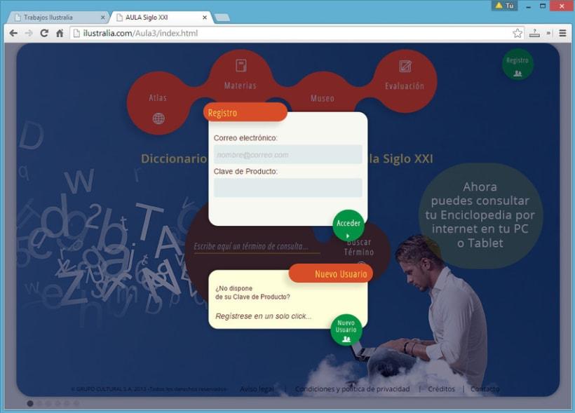 Diseño de Enciclopedia Online Estudiantil 7