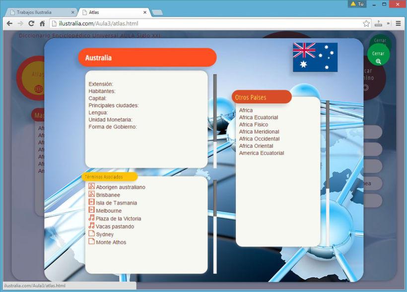 Diseño de Enciclopedia Online Estudiantil 9