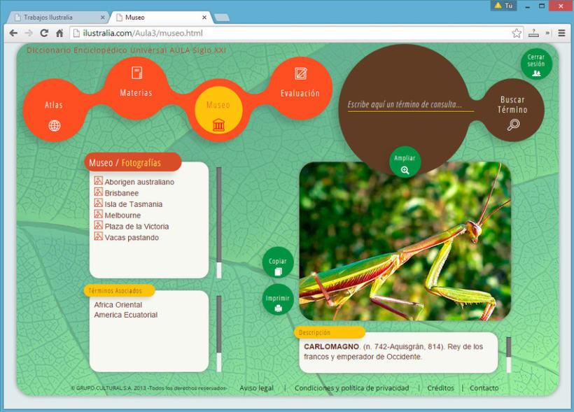 Diseño de Enciclopedia Online Estudiantil 11