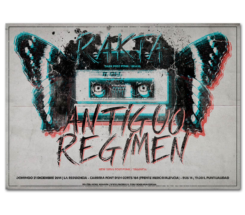RAKTA + ANTIGUO RÉGIMEN | poster 0