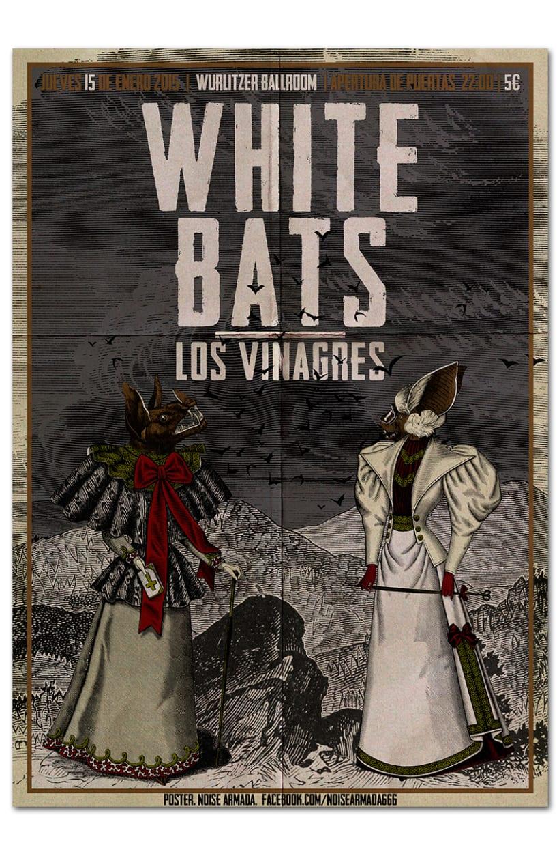 WHITE BATS + LOS VINAGRES | poster 0