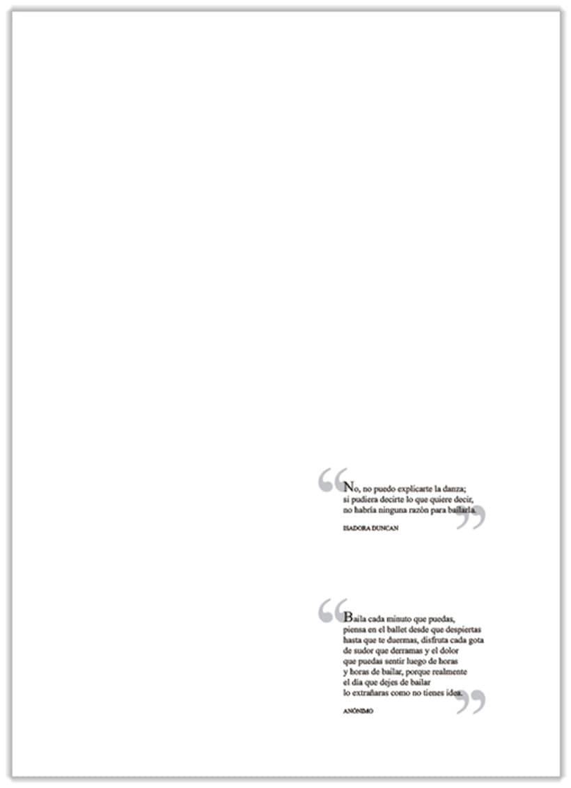 Maquetación de dossier académico 2