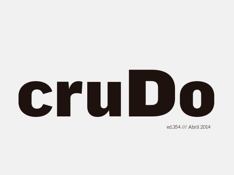 Revista Crudo 1