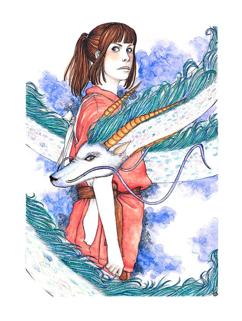 Spirited Away - El viaje de Chihiro 1