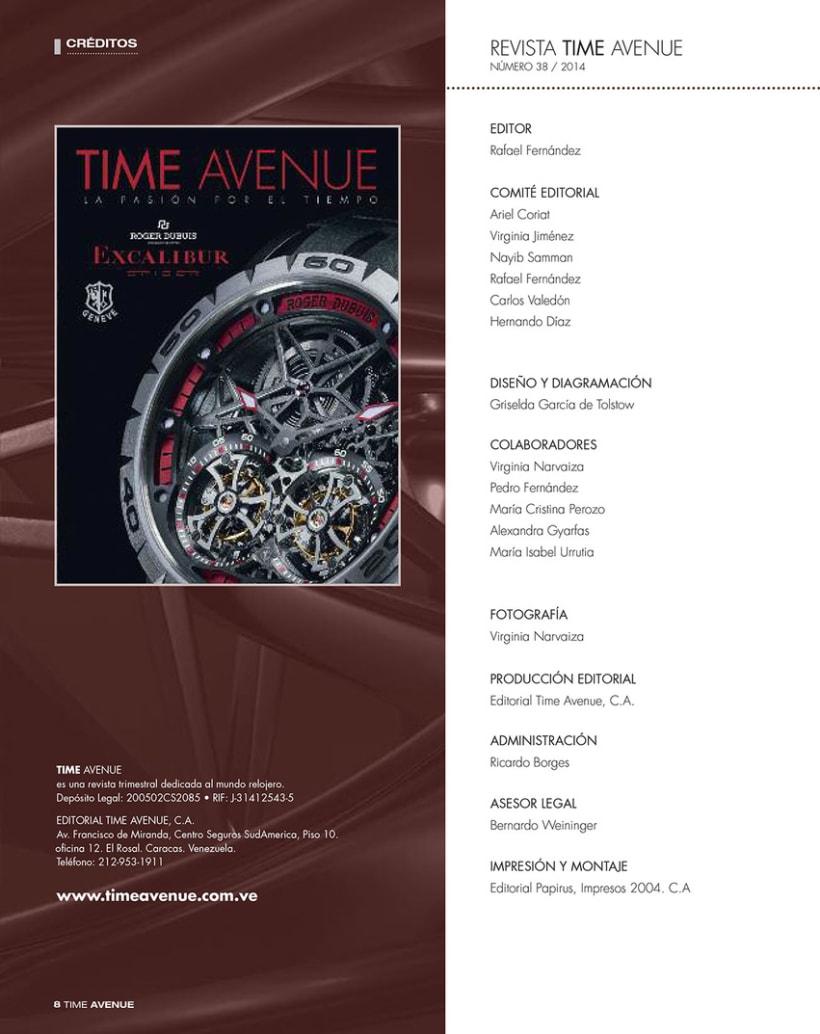 Revista Time Avenue 8