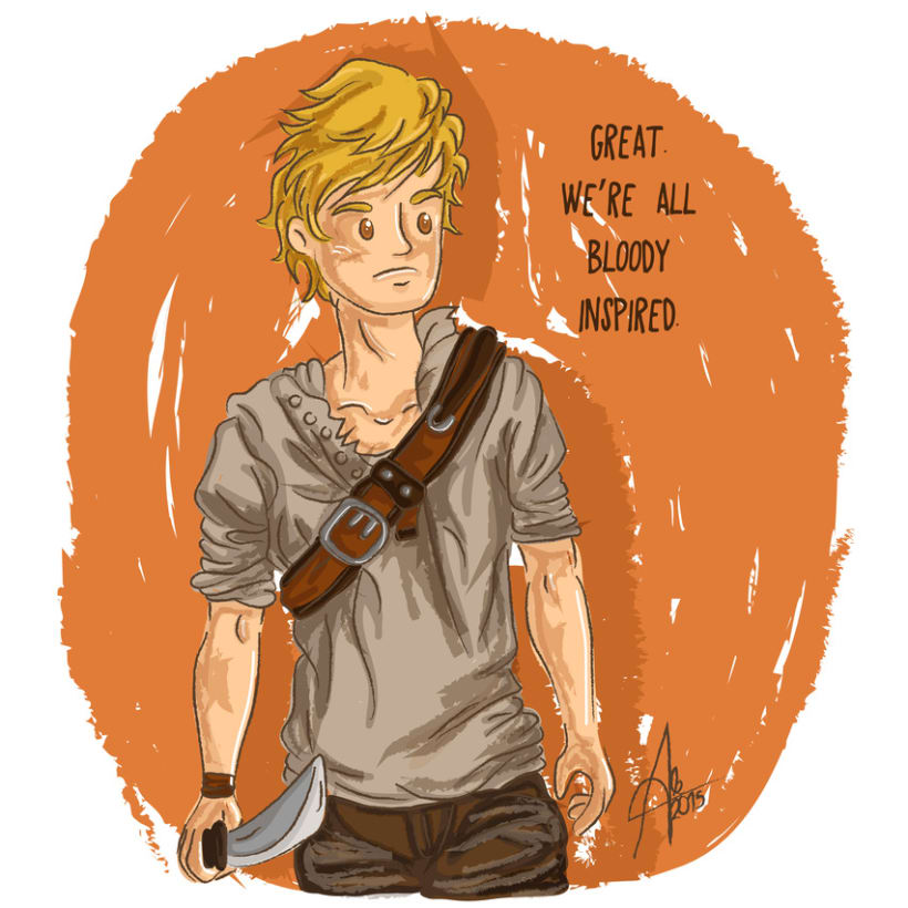 Newt. The Maze Runner -1