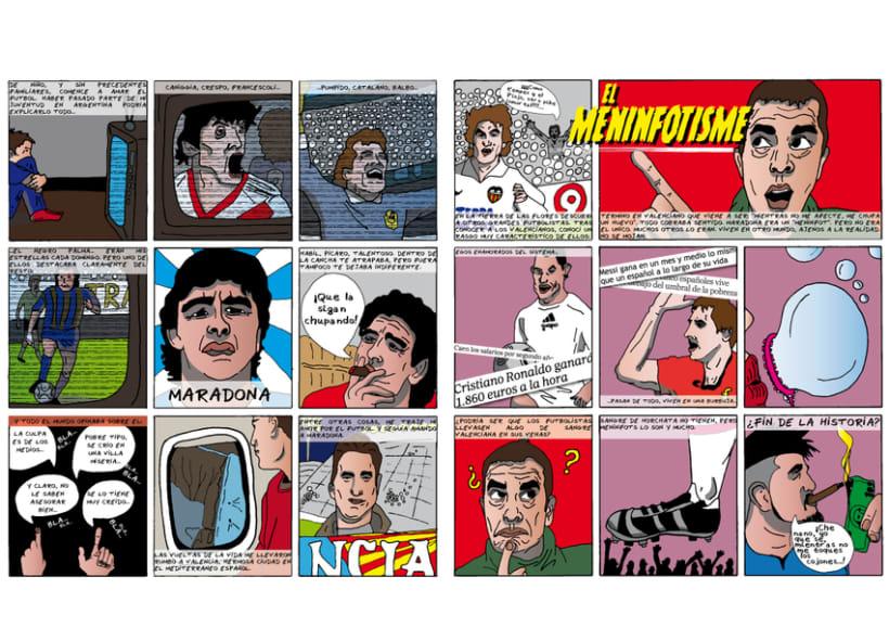 """Meninfotisme. Mi proyecto del curso """"El cómic es otra historia"""" -1"""