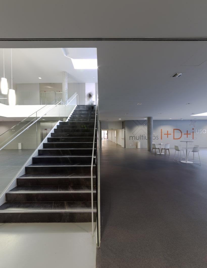 Edificio Multiusos I+D+I de la USAL. C/ Espejo, Salamanca. 14