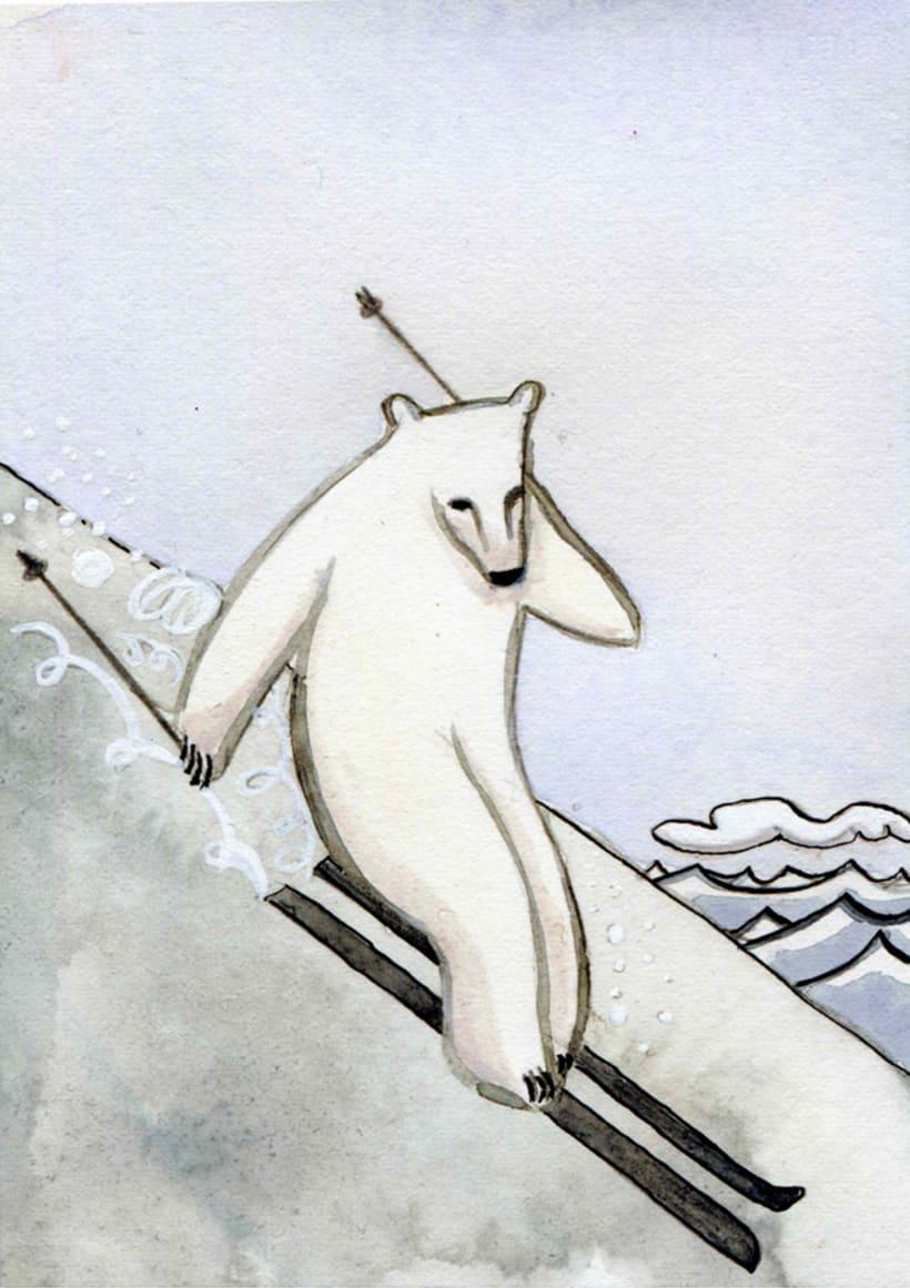 Blanco sobre Blanco. Libro Ilustrado 1