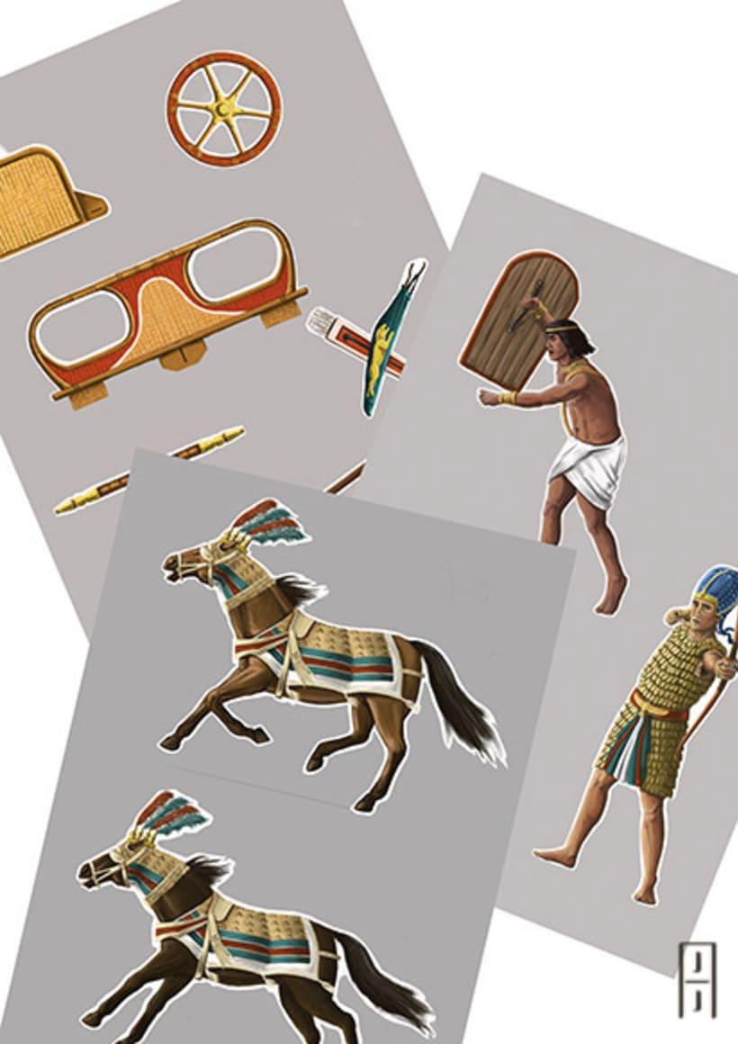 Maquetas de papel (Carros de guerra antiguos) 0