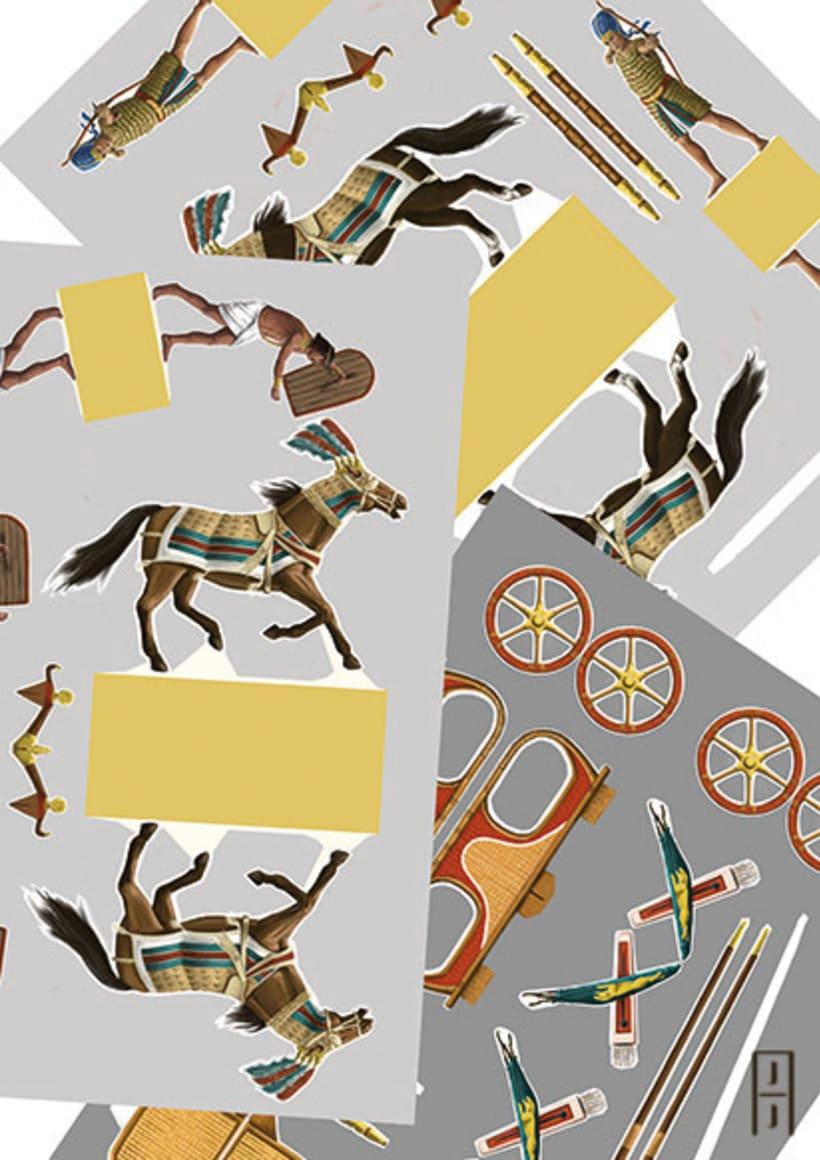 Maquetas de papel (Carros de guerra antiguos) 2
