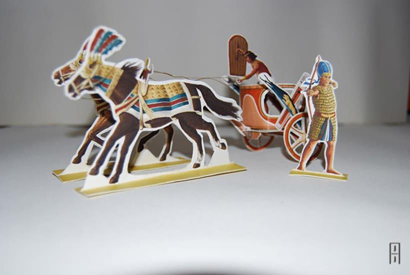 Maquetas de papel (Carros de guerra antiguos) 5