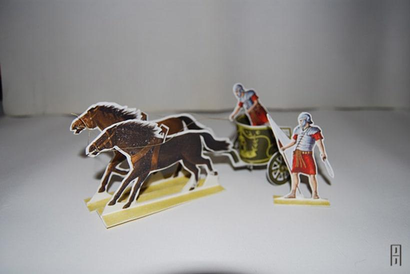 Maquetas de papel (Carros de guerra antiguos) 12