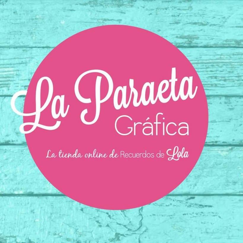 La Paraeta Gráfica la tienda online de Recuerdos de Lola.Nuevo proyecto 0