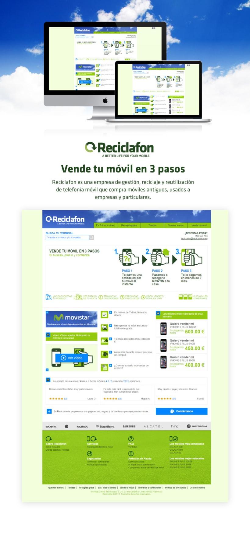 Empresa de reciclaje móvil 0