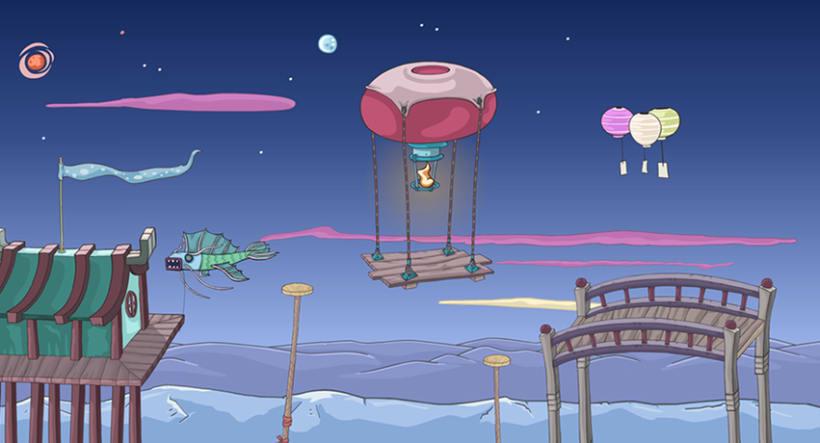 Kinito Ninja 2: Backgrounds 3