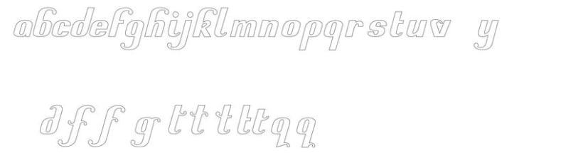 Creacion de una tipografia 1