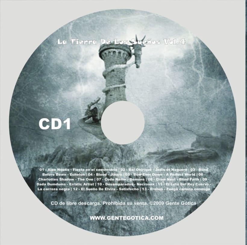 Diseño caratulas cd/dvd 2