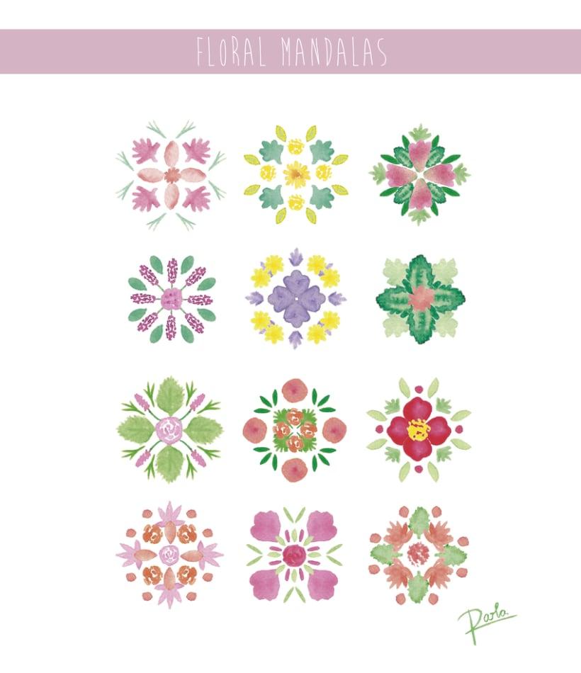 Floral Mandalas 0