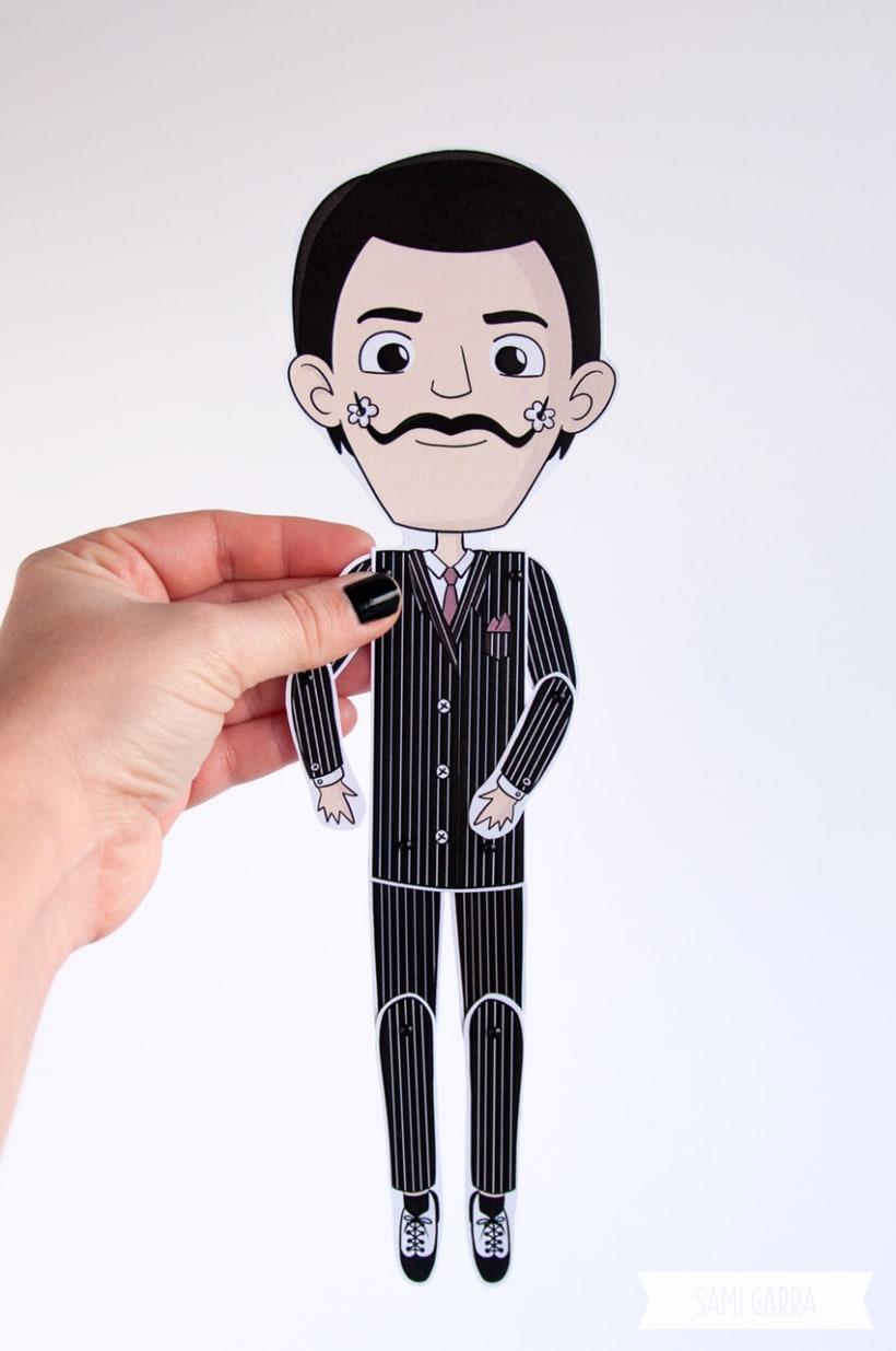 Paper Puppet Dolls 1