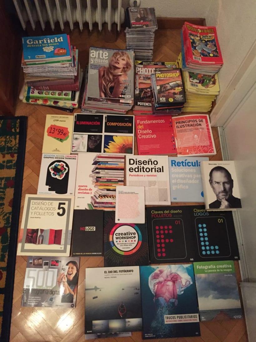 Vendo libros de Diseño + Fotografía + Revistas A&D + Comic + Otros (Libros a 6-8€) 0