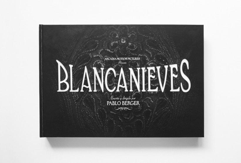 Blancanieves, El Libro de la Película -1