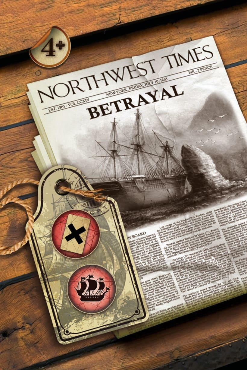 Juego Paso del Noroeste (Nortwest Passage Adventure) 2