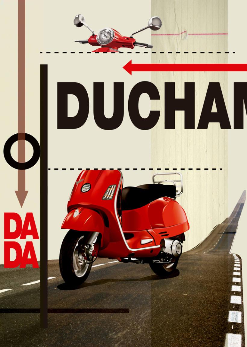 Cartel estilo Dadaismo 1