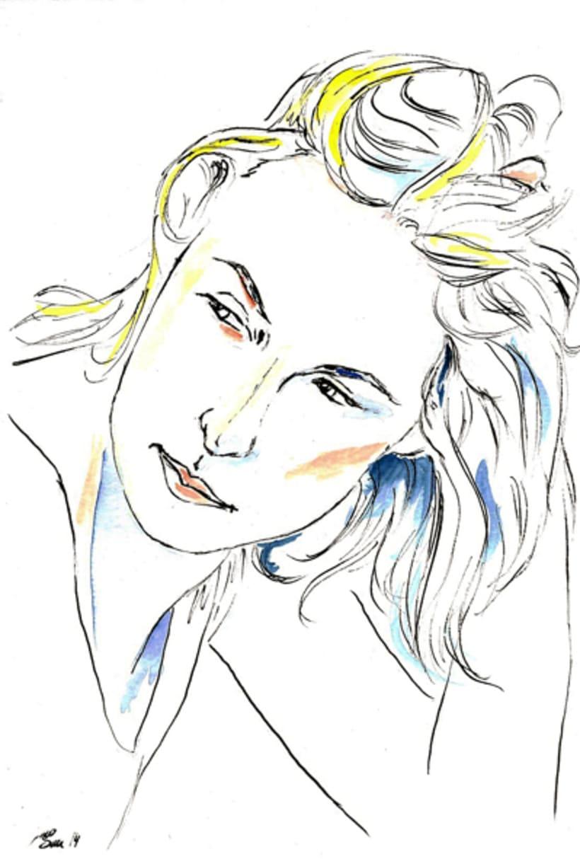 Retratos - tinta 1