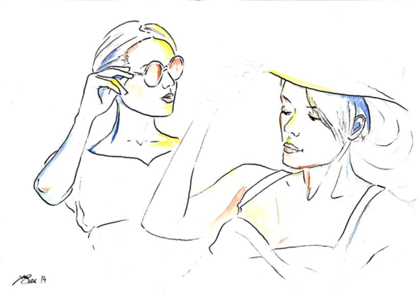 Retratos - tinta 2