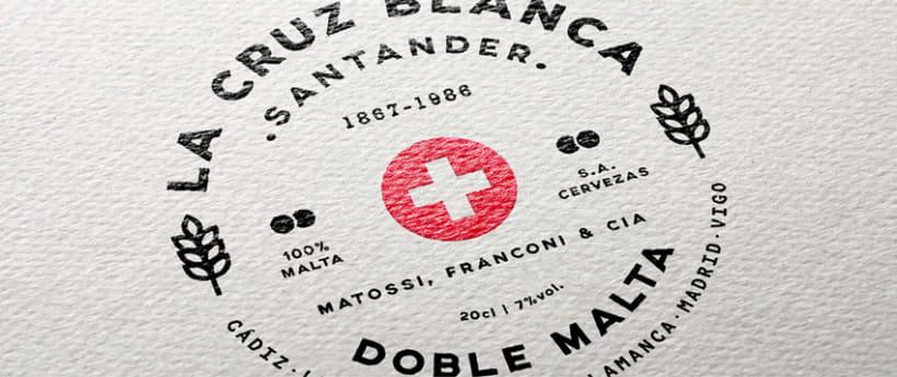 Rediseño etiqueta La Cruz Blanca 7