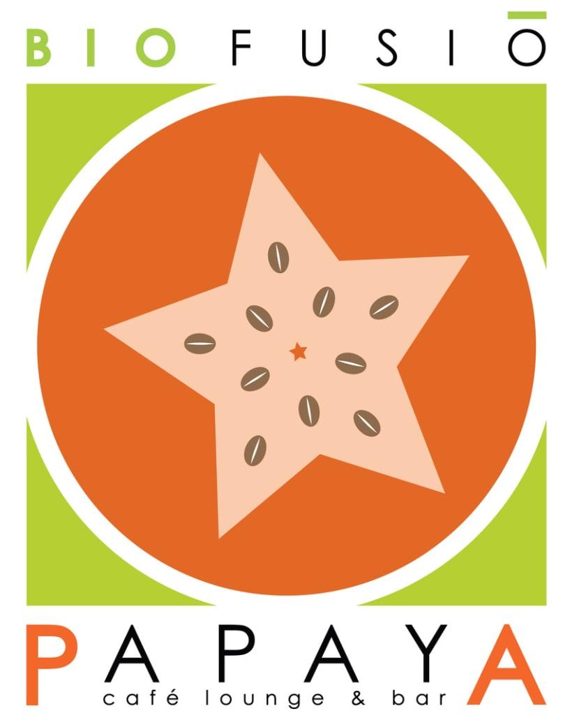 Imagen Gráfica - Papaya Café 0