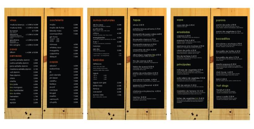 Imagen Gráfica - Papaya Café 1