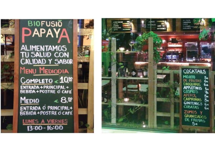 Imagen Gráfica - Papaya Café 2