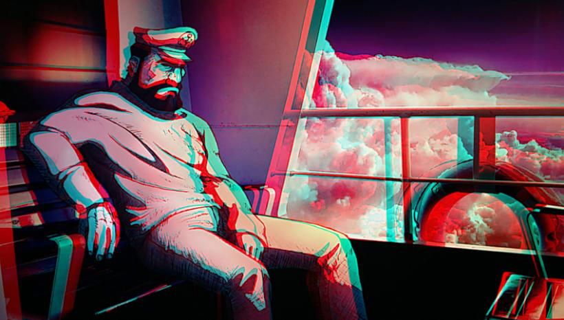 Vuelta: Fotografia + ilustración en 3D 1