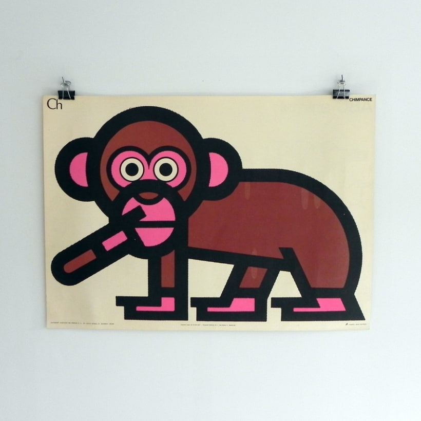 Fósforos del Pirineo Abecedario Animal posters 1