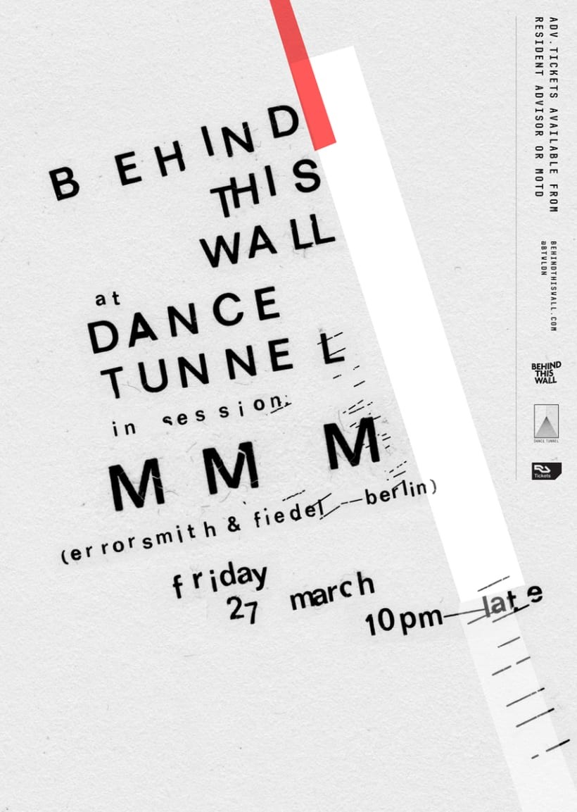 Behind This Wall at Dance Tunnel – MMM 1