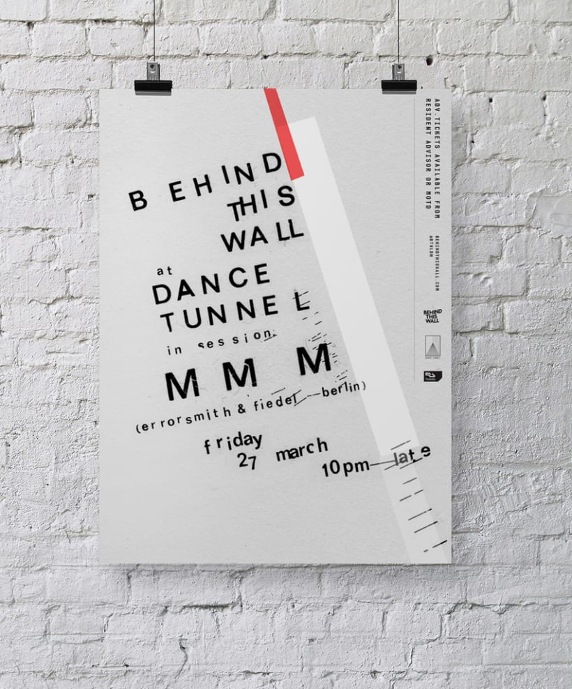 Behind This Wall at Dance Tunnel – MMM 8