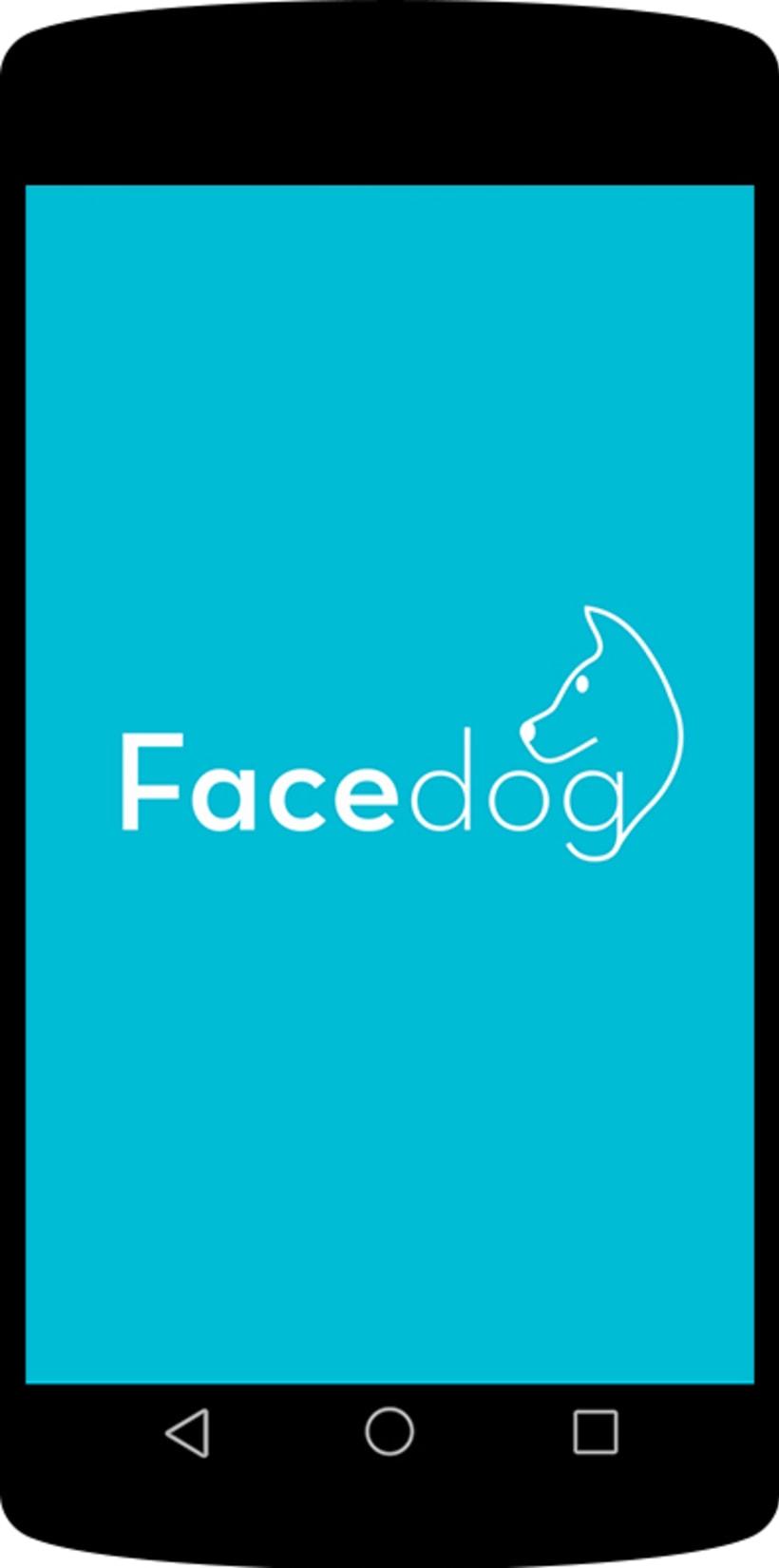 Diseño app Facedog para Android 1