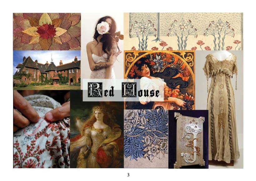 Red House, colección de moda 1
