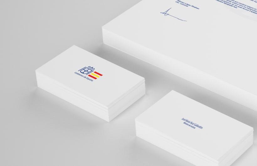 Rediseño Identidad Gobierno de España 3