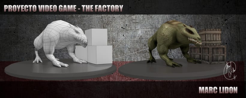 Video Game THE FACTORY 2