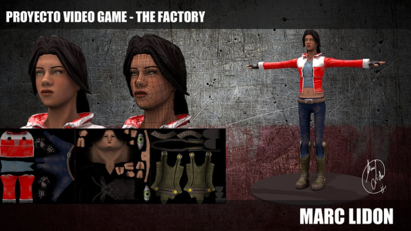 Video Game THE FACTORY 4