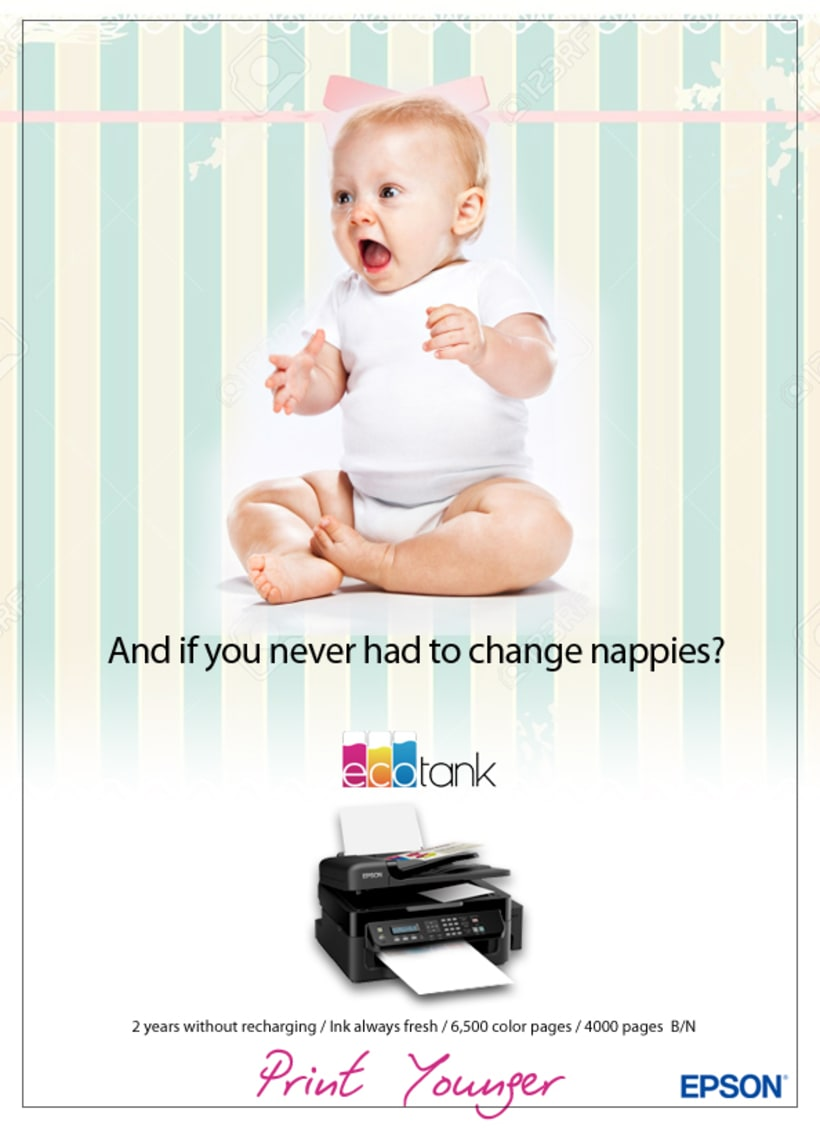 Digital & Social Media Campaign / Key Visual / EPSON EcoTank 0