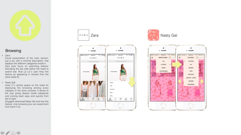 UI/UX Advising for a Fashion App 2
