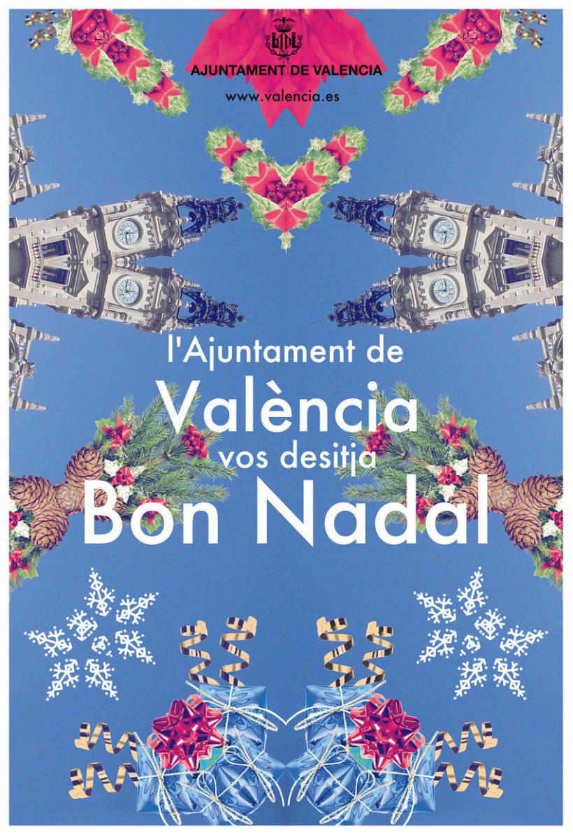 cartel de navidad propuesta para el de valencia