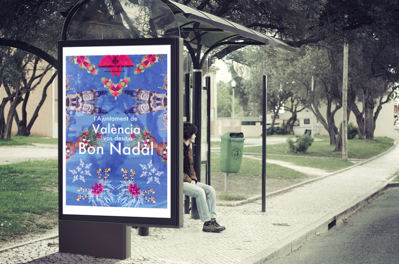 Cartel de Navidad (propuesta para el Ayuntamiento de Valencia) 0