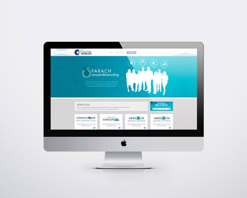 Consultores Farach Diseño web responsive -1